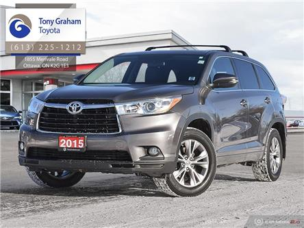 2015 Toyota Highlander  (Stk: 58897A) in Ottawa - Image 1 of 29