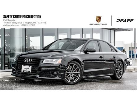 2018 Audi S8 4.0T Plus NWB quattro 8sp Tiptronic (Stk: U8356) in Vaughan - Image 1 of 22