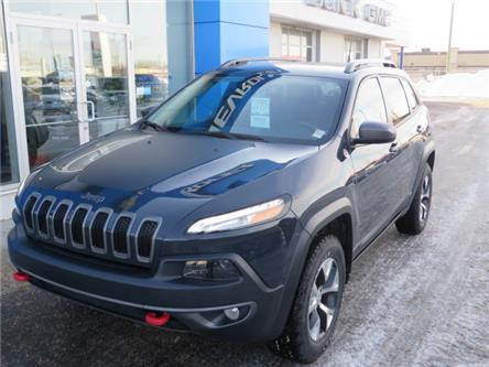 2016 Jeep Cherokee Trailhawk (Stk: 19255A) in STETTLER - Image 2 of 21