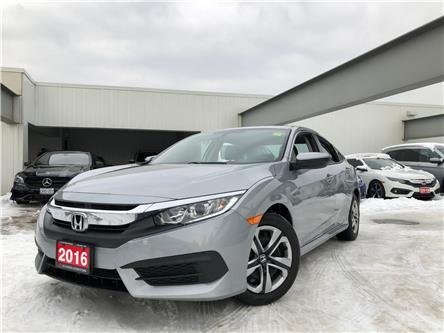 2016 Honda Civic LX (Stk: C191161A) in Toronto - Image 1 of 29