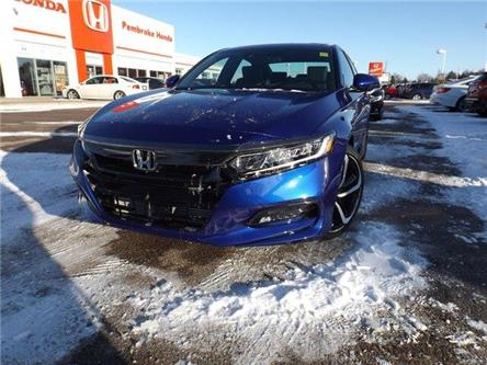 2020 Honda Accord Sport 1.5T (Stk: 20007) in Pembroke - Image 1 of 30