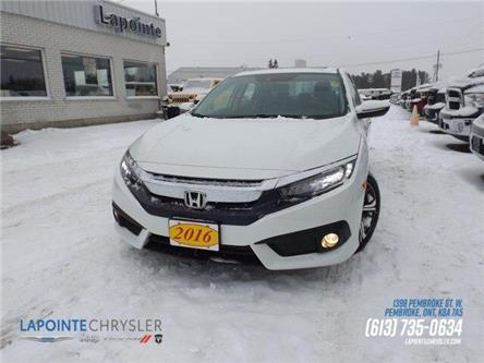 2016 Honda Civic Touring (Stk: P3516A) in Pembroke - Image 1 of 30