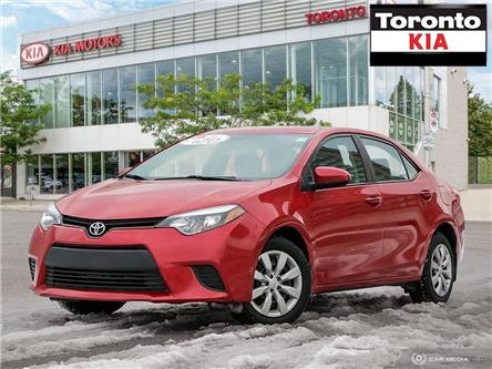 2014 Toyota Corolla LE (Stk: K31912A) in Toronto - Image 1 of 25
