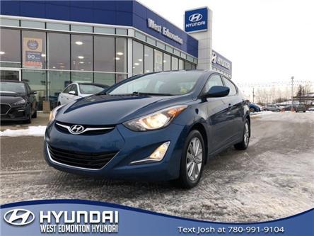 2016 Hyundai Elantra Sport Appearance (Stk: 8378A) in Edmonton - Image 1 of 20