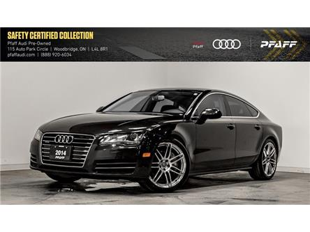 2014 Audi A7 3.0 Progressiv (Stk: C7173A) in Woodbridge - Image 1 of 22