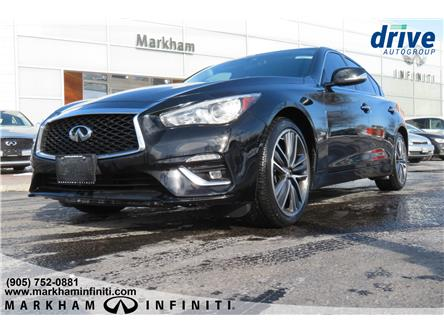 2018 Infiniti Q50 3.0t LUXE (Stk: P3295) in Markham - Image 1 of 15