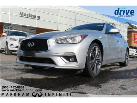 2018 Infiniti Q50 3.0t LUXE (Stk: P3296) in Markham - Image 1 of 15
