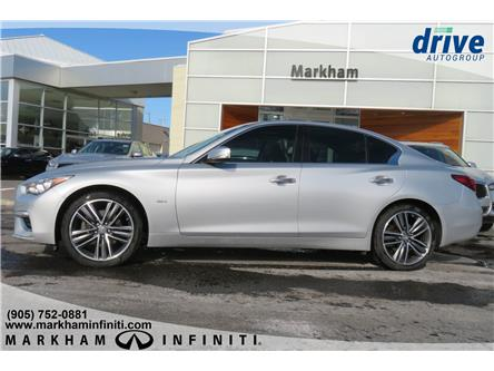 2018 Infiniti Q50 3.0t LUXE (Stk: P3296) in Markham - Image 2 of 15
