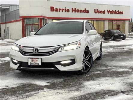 2016 Honda Accord Touring (Stk: U16827) in Barrie - Image 1 of 26