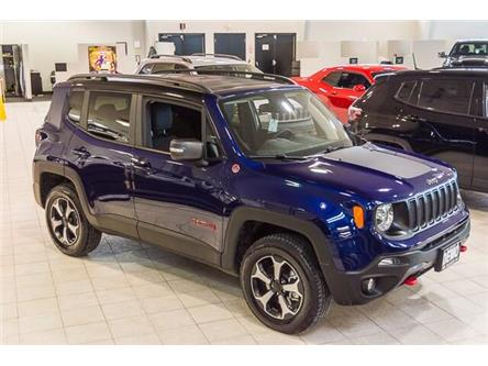 2019 Jeep Renegade Trailhawk (Stk: 33203D) in Barrie - Image 1 of 21