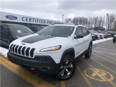 2017 Jeep Cherokee Trailhawk (Stk: FP191233A) in Barrie - Image 1 of 27