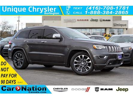 2017 Jeep Grand Cherokee OVERLAND| DVD| ACTIVE SAFETYTEC GRP| HARMAN KARDON (Stk: L322A) in Burlington - Image 1 of 50