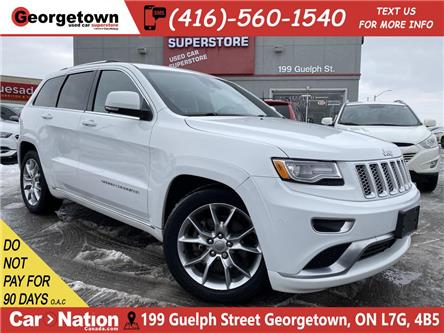 2015 Jeep Grand Cherokee Summit | 4X4 | LEATHER | NAVI | BU CAM | ROOF | HK (Stk: P12733) in Georgetown - Image 1 of 32