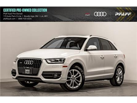 2015 Audi Q3 2.0T Technik (Stk: T17484A) in Vaughan - Image 1 of 22