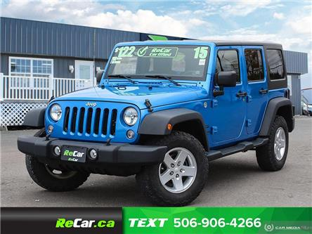 2015 Jeep Wrangler Unlimited Sport (Stk: 191246A) in Fredericton - Image 1 of 20