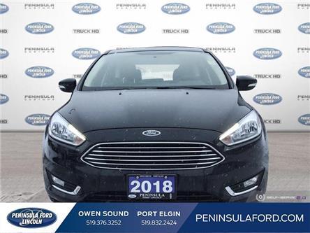 2018 Ford Focus Titanium (Stk: 1870) in Owen Sound - Image 2 of 25