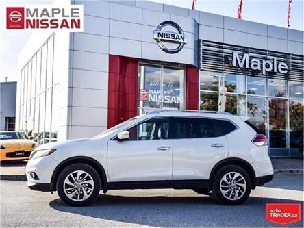 2015 Nissan Rogue SL AWD|Navi|Leather|Heated Seats (Stk: M19M062A) in Maple - Image 2 of 18