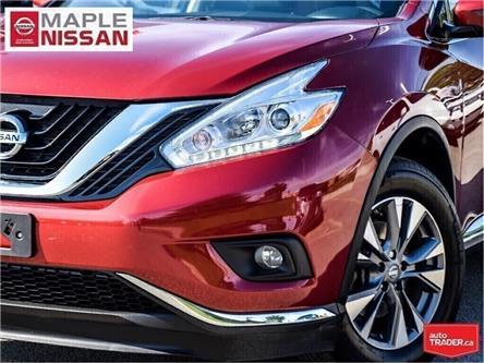 2017 Nissan Murano SV AWD|Navi|Backup Camera|Alloys|Moonroof (Stk: UM1645) in Maple - Image 2 of 28