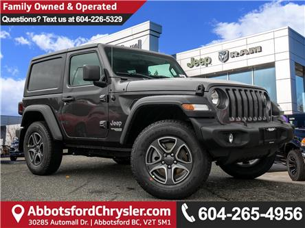 2020 Jeep Wrangler Sport (Stk: L155181) in Abbotsford - Image 1 of 24