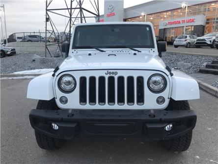 2018 Jeep Wrangler JK Unlimited Sport (Stk: 200061A) in Cochrane - Image 2 of 16