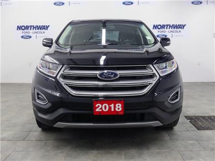 2018 Ford Edge Titanium | AWD | PWR HTD LEATHER | PUSH START | (Stk: DR705) in Brantford - Image 2 of 41