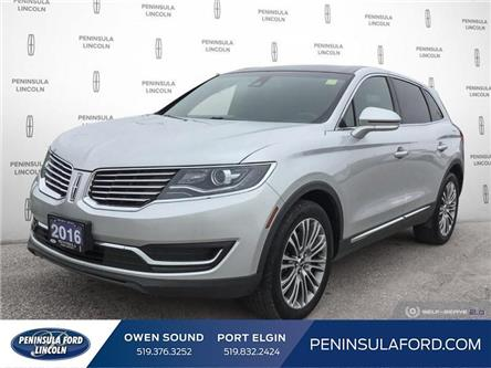 2016 Lincoln MKX Reserve (Stk: 19LI28A) in Owen Sound - Image 1 of 24
