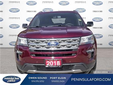 2018 Ford Explorer XLT (Stk: 19ED55A) in Owen Sound - Image 2 of 24