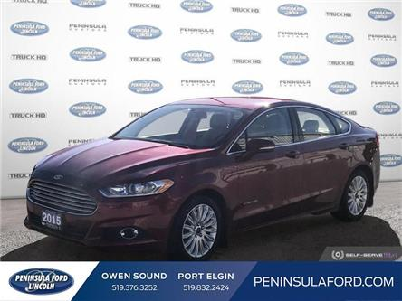 2015 Ford Fusion Hybrid SE (Stk: 20FN01A) in Owen Sound - Image 1 of 26