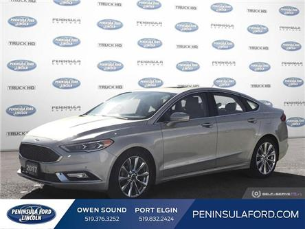 2017 Ford Fusion Platinum (Stk: 20LI06A) in Owen Sound - Image 1 of 26