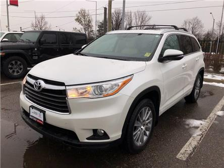 2016 Toyota Highlander XLE (Stk: U2937) in Vaughan - Image 1 of 26