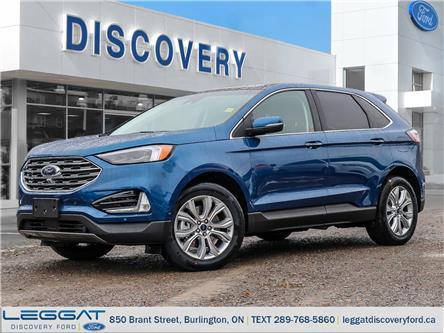2020 Ford Edge Titanium (Stk: ED20-20228) in Burlington - Image 1 of 23