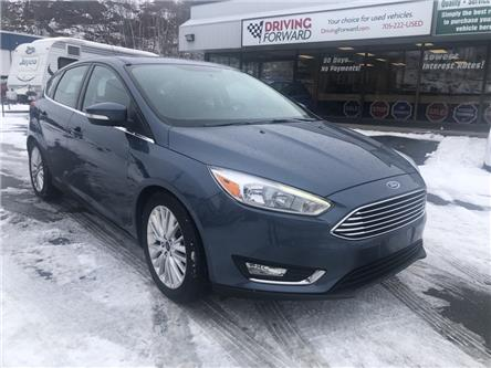 2018 Ford Focus Titanium (Stk: DF1697) in Sudbury - Image 1 of 19