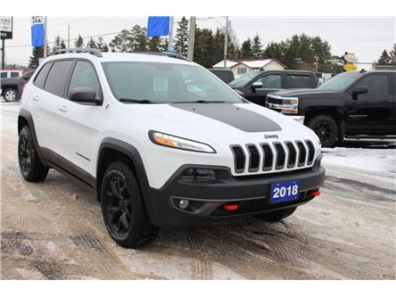 2018 Jeep Cherokee Trailhawk (Stk: 7295-19A) in Sault Ste. Marie - Image 1 of 26