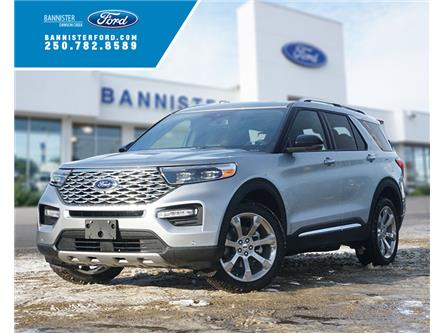 2020 Ford Explorer Platinum (Stk: S202431) in Dawson Creek - Image 1 of 19