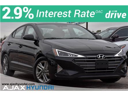 2020 Hyundai Elantra Preferred w/Sun & Safety Package (Stk: P4868R) in Ajax - Image 1 of 31