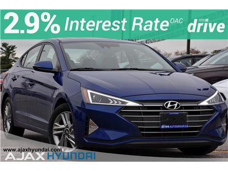 2020 Hyundai Elantra Preferred w/Sun & Safety Package (Stk: P4867R) in Ajax - Image 1 of 32