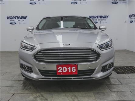 2016 Ford Fusion SE   LEATHER   BACKUP CAM   TECH PKG   LUXURY PKG (Stk: DR556A) in Brantford - Image 2 of 36