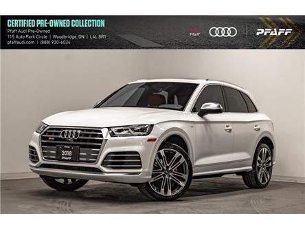 2018 Audi SQ5 3.0T Technik (Stk: C7287) in Vaughan - Image 1 of 22