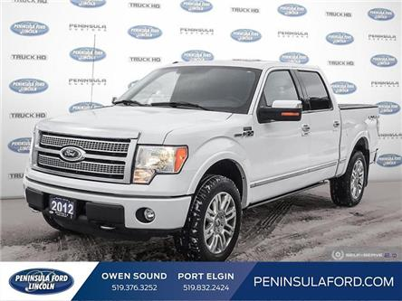 2012 Ford F-150 Platinum (Stk: 19FE215A) in Owen Sound - Image 1 of 24