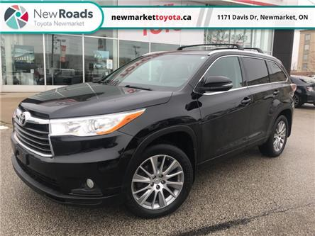 2015 Toyota Highlander XLE (Stk: 347791) in Newmarket - Image 1 of 25