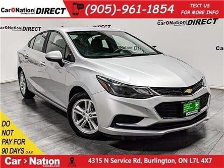 2018 Chevrolet Cruze LT| BACK UP CAMERA| HEATED SEATS| (Stk: DRD2197) in Burlington - Image 1 of 34