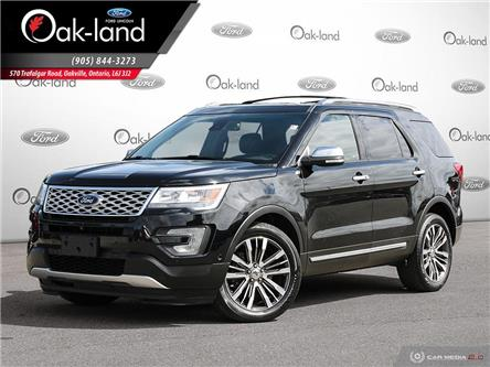 2017 Ford Explorer Platinum (Stk: 9T682A) in Oakville - Image 1 of 27