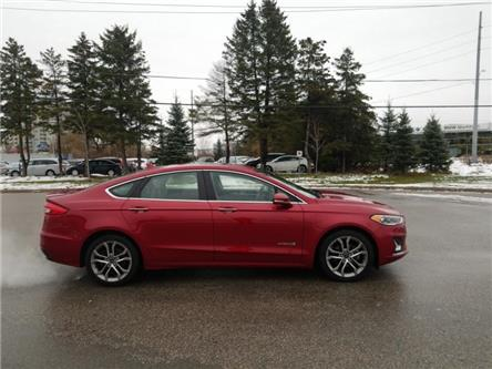 2019 Ford Fusion Hybrid Titanium (Stk: P8968) in Unionville - Image 1 of 14