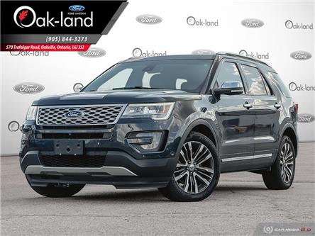 2017 Ford Explorer Platinum (Stk: 9T616A) in Oakville - Image 1 of 26