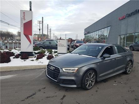 2018 Audi A3 2.0T Technik (Stk: 53110A) in Ottawa - Image 1 of 5