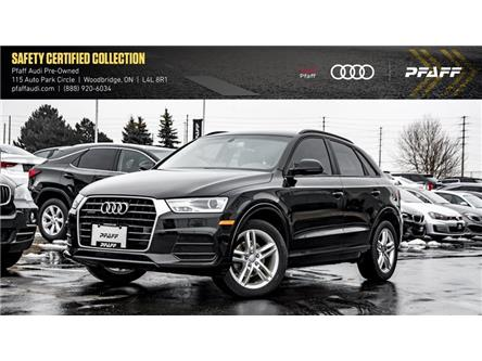 2016 Audi Q3 2.0T Komfort (Stk: C7265) in Woodbridge - Image 1 of 21