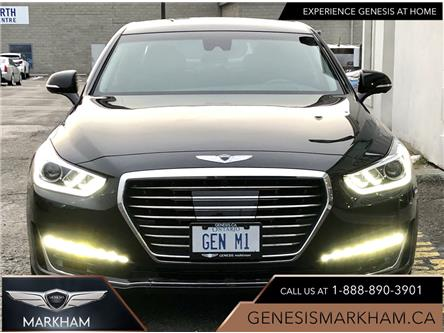 2019 Genesis G90 5.0L (Stk: 185545) in Markham - Image 1 of 30