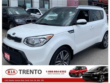 2015 Kia Soul SX LUX|NAVI|PANOROOF|LEATHER|ONE OWNER|LOW KM| (Stk: K0473) in North York - Image 1 of 14