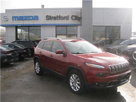 2016 Jeep Cherokee Limited (Stk: 19146A) in Stratford - Image 1 of 27