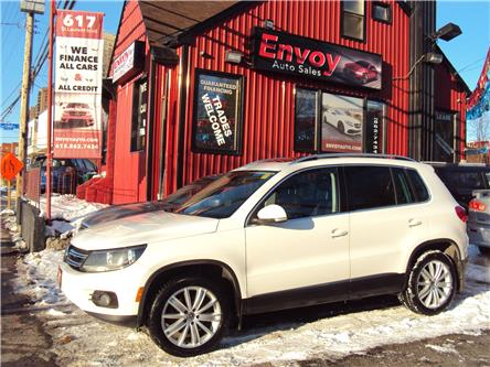 2013 Volkswagen Tiguan 2.0 TSI Highline (Stk: ) in Ottawa - Image 1 of 29